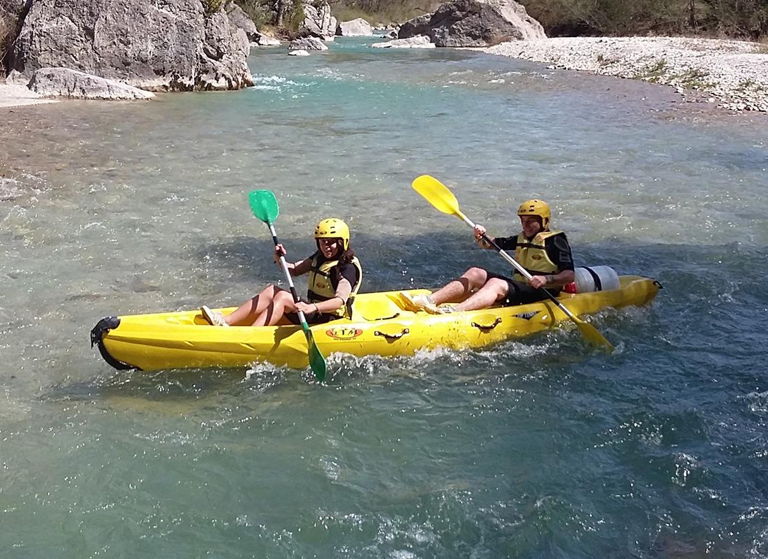 St Auban Canoe 2016