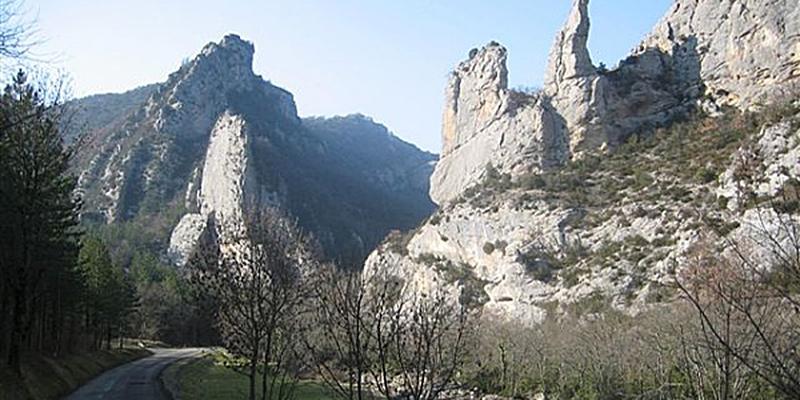 Image Gorges De Saint Moirans
